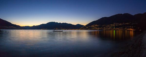 2015-11-27 Sunset over Lago Maggiore-104-Pano