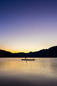 2015-11-28 Sunset over Lago Maggiore-92