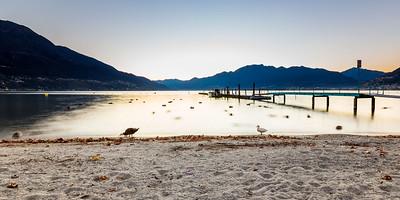2015-11-27 Sunset over Lago Maggiore-3
