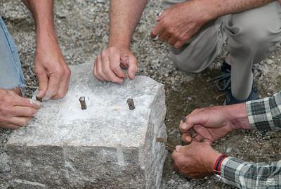 CP Wilson Museum Granite Talk Hands 072414