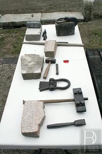 CP Wilson Museum Granite Talk Tools AB 072414