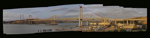 Carquinez Bridge at Sunset