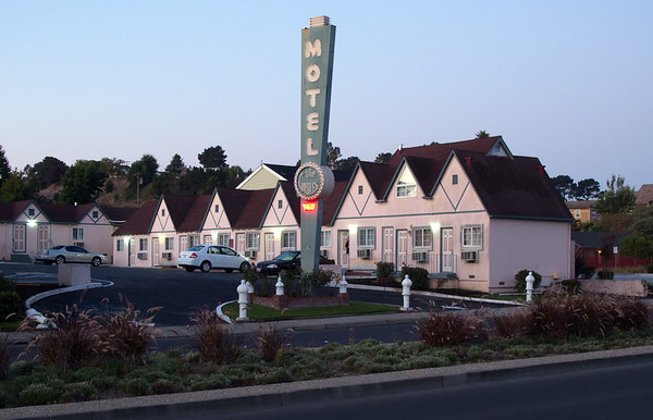 Gables Motel at Dawn