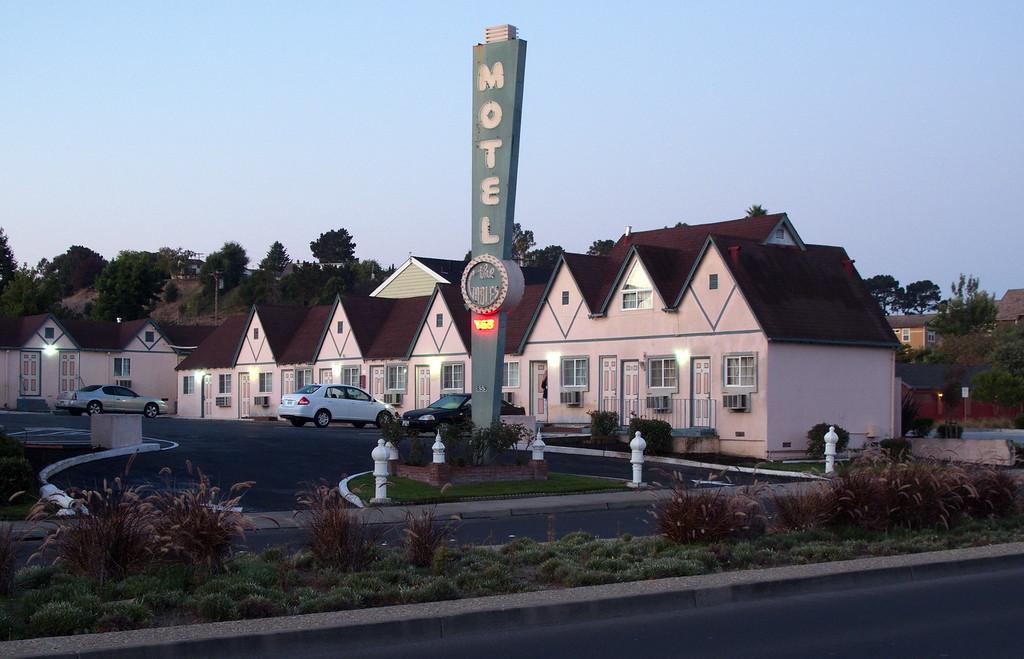 Gables Motel at Dawn