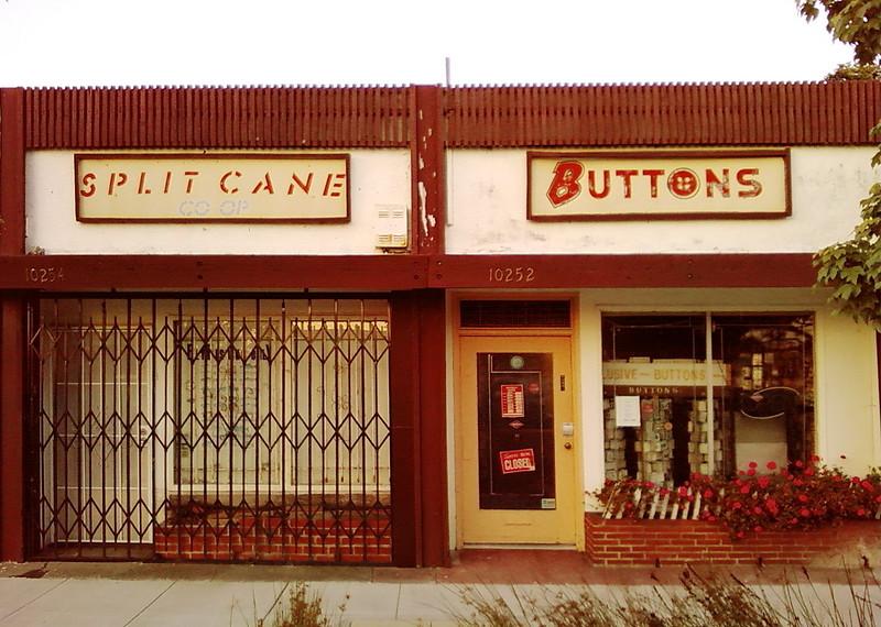SPLIT CANE     BUTTONS
