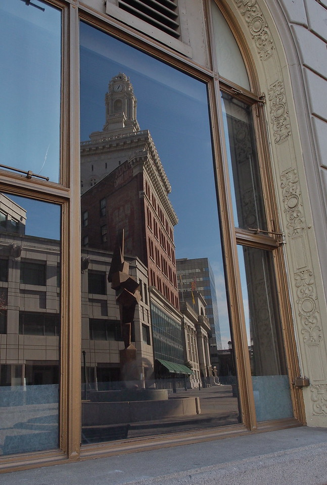 Sculpture Reflection