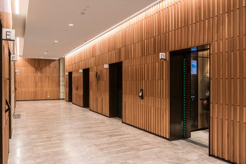 South lift lobby