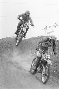 # 333 Denny Swartz - Maico # 322 Mark Barnett - Suzuki
