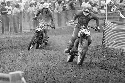# 66 Danny Weir - Kawasaki # 988 (rider?) - Suzuki