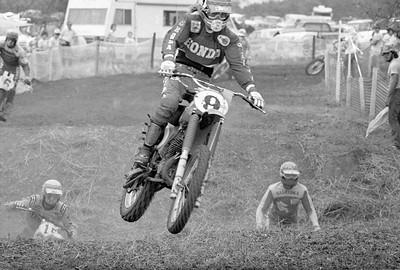 # 9 Marty Smith - Honda # 15 Pierre Karsmakers - Yamaha # 3 Tony DiStefano - Suzuki # 6 Steve Stackable - Maico