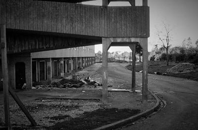Southampton Social Housing Demolition