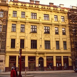 Prague Smichov. Project Site.
