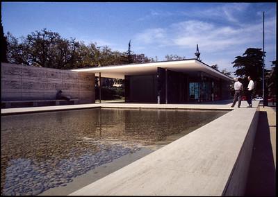 Barcelona The Mies Pavillion