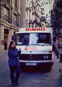 Barcelona. The Bimbomobile