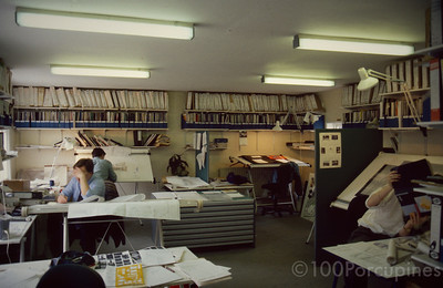 Southampton Design Office Before the PC