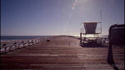 California. Pier
