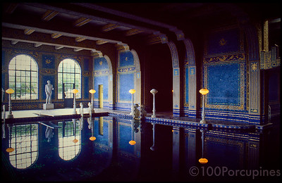 California Hearst Castle Indoor Pool