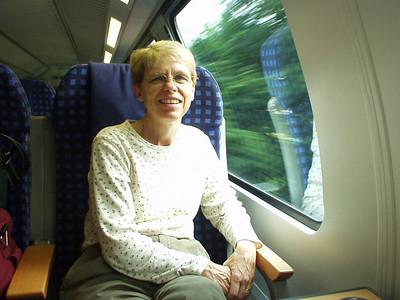 En route to Hamburg
