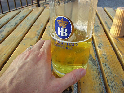 The local Hofbrauhaus and beer garden!