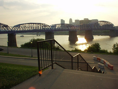 Cincinnatti during a solar transit AND a visit from the 17 year brood!