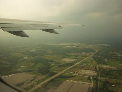 Returning home.  Leaving KY.