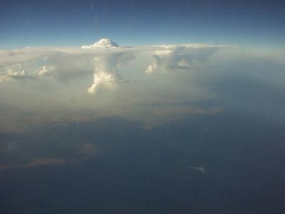 Thunderheads.