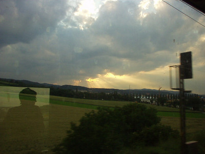 Leaving Austria for Rome, Italy