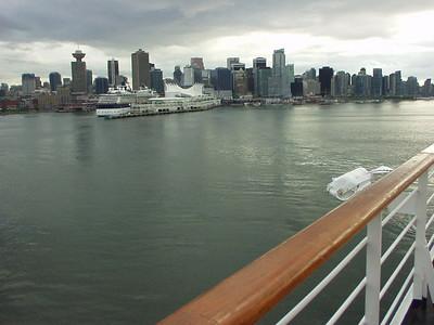 Sail away!  Vancouver, BC