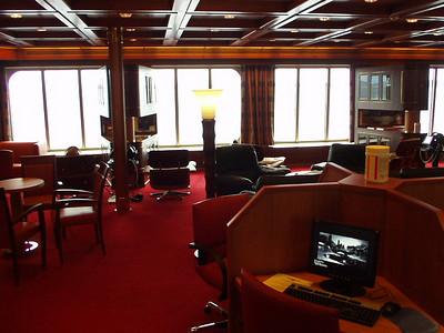 Statendam interior.  The library.
