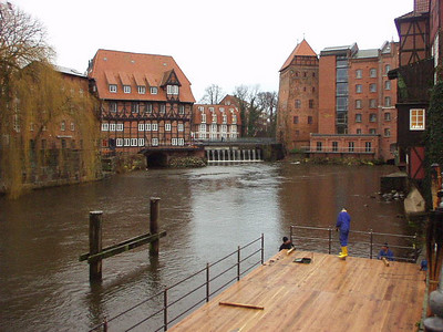 Trip to the winter market in Lueneburg, Germany