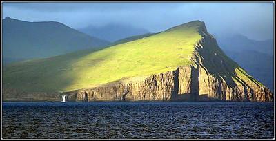 Off the Faroe Islands