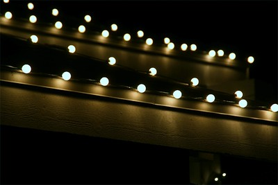 A sea of lights...