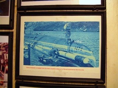 The aft torpedo tubes could only be loaded in port, by altering the ballast of the boat, and inserting the 4 torpedos from the stern.  Forward tubes could be reloaded at sea.