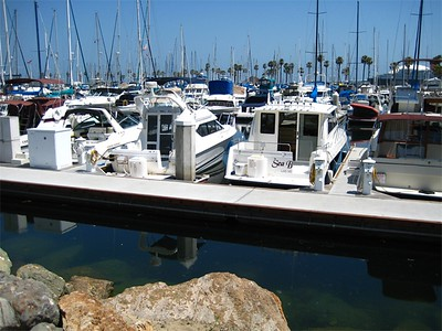 Long Beach Marina.