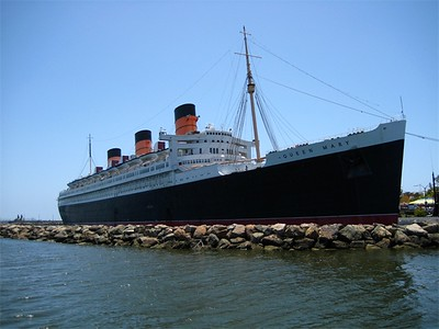 First stop, the Queen Mary side of the channel.