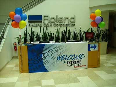 "Extreme Makeover - Roland Edition for employees, their families and guests.  The building was fully decked out for the event!  There was a ""self guided"" tour, which you'll get to experience from my perspective."