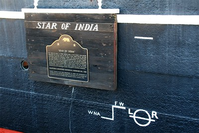 Detail on the side of the Star.