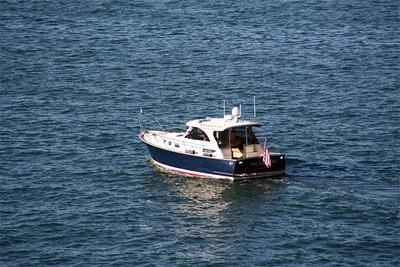Harbor yacht.