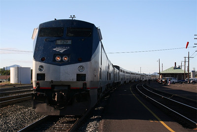 Amtrak-Irvine to Seattle