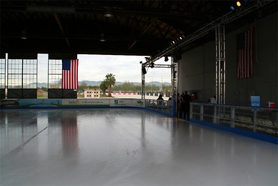 Hangar 244:  Feb/Mar 2009, a skating rink.  Beyond that, a hangar for rent for special events!