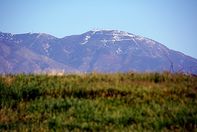 Saddleback from MCAS El Toro.  Yup, snow sprinkled on top.