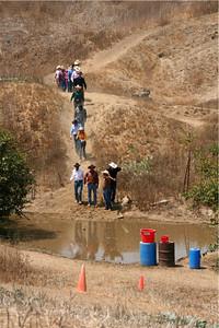 Water hazard!