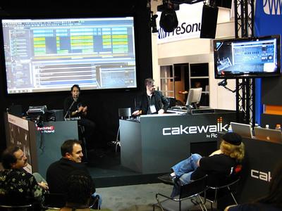 Cakewalk demo.