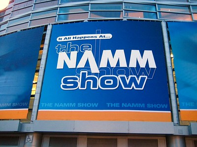 My first visit to the NAMM show!  I attended on Friday afternoon, day 2 of this 4 day show in Anaheim, California.