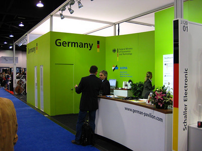 Germany's booth to promote German music manufacturers.  Interesting promotion.