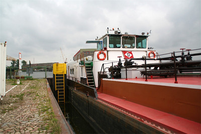Fuel carrier designed for the river.