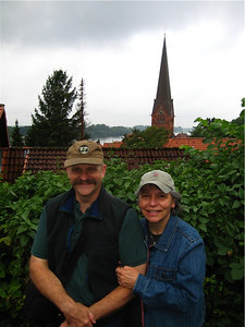 Rhonda and Steve in Lauenburg, Germany.