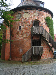 "Lauenburg, Germany.  The ""Schlossturm""."