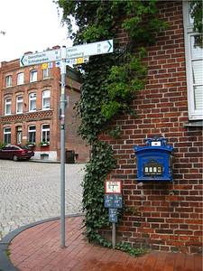 Random signage, Lauenburg, Germany.