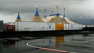 Cirque du' Soleil is active now in Irvine.